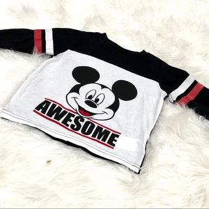 New! Mickey long sleeve shirt